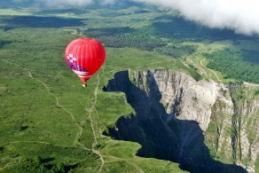 Euskadi globo aerostatikoz