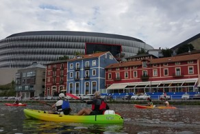 Travesia guiada Bilbao – Bilbao en piragua